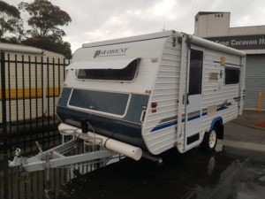 Paramount Delta Pop Top Semi Off Road 4×4 Caravan